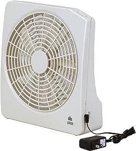 ロゴス 扇風機 2電源・どこでも扇風機(AC・電池) 81336702