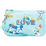 Kipling Disney's Mickey & Friends Creativity Extra Large Wristlet