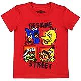 Sesame Street Boys Short Sleeve Tee (Baby/Toddler/Little Kid)