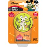 Minnie and Mickey Mouse Safety Light with Lanyard and Clip for Halloween Trick or Treating or Night Events with Candy, 3 Inch