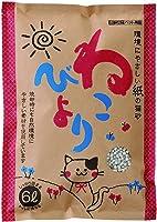 ボンビアルコン 紙の猫砂ねこびより 6L