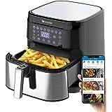 proscenic T21 Smart Air Fryer, App & Alexa Control, XL 5, 8 QT, 1700W Electric Air Fryers Oven and Oil-Free Pot, 8 Cooking Pr