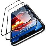 TORRAS iPhone 11 pro用 iPhoneXs用 iPhoneX 用ガラスフィルム 5.8インチ(2枚セット) (ガイド枠 気泡除去ヘラ付き) SGS認証 全面保護 日本製9H強化ガラス保護フィルム 高透過率 耐衝撃(アイフォンX Xs
