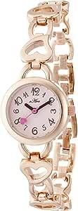 [フィールドワーク] 腕時計 QKS003-4 ピンク