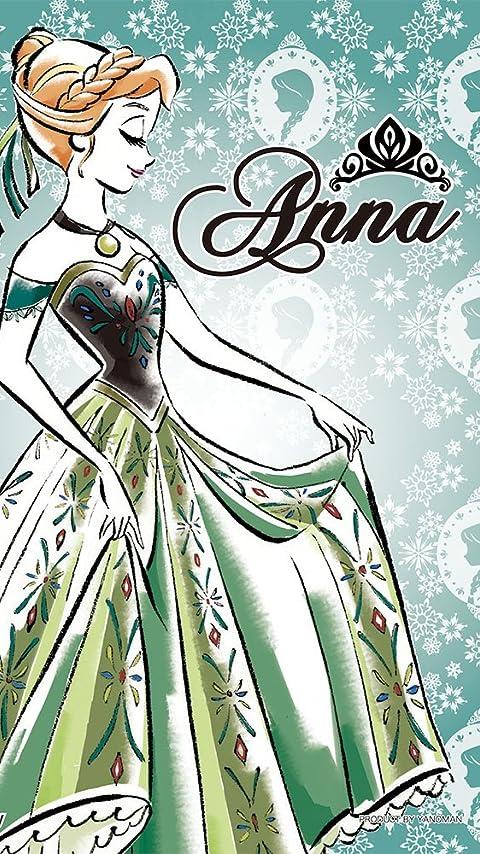 ディズニー アナと雪の女王 アナ-Anna- XFVGA(480×854)壁紙 画像32110 スマポ