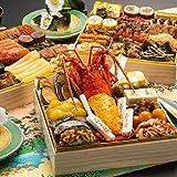 博多久松 本格和風豪華おせち 千代 特大8寸3段重 全45品 おせち料理 お届け日(2020年12月28日)着