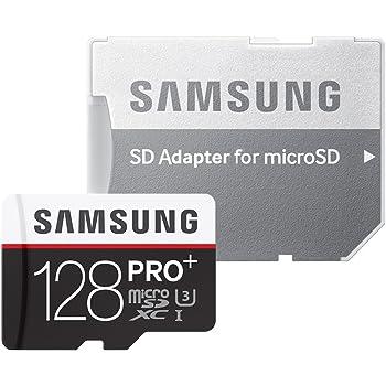 Samsung microSDXCカード 128GB PRO+ Class10 UHS-I U3対応 (最大読出速度95MB/s:最大書込速度90MB/s) MB-MD128DA/FFP