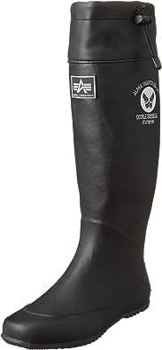 [アルファ インダストリーズ] レインシューズ AF-R5000 メンズ ブラック JP XS(23cm)