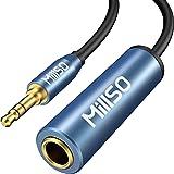 6.3mm標準ジャック 3.5mmステレオミニプラグ変換ケーブル MillSO 1/4インチto 1/8インチ ヘッドフ…