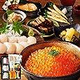 父の日ギフト 人気 食べ物 島の人 北海道 海鮮7点セット 内祝い 詰め合わせ 贈答 いくら