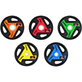 Meteor Urethane Weight Plate - 50mm Hole Olympic Weight Plate Weightlifting Plate for Dumbbell Barbell Olympic Bar