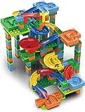 知育玩具◇自由にコースが作れるビー玉コロコロスライダー/ブロックスライダーBIG