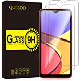 QULLOO 【2枚セット】Galaxy A21 フィルム SC-42A 強化ガラス 旭硝子製 Galaxy A21 ガラスフィルム 硬度9H 飛散防止 指紋防止 自動吸着 気泡防止 液晶保護フィルム