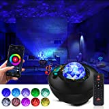 Galaxy Projector Star Projector Ocean Galaxy Light with Bluetooth Music Speaker Galaxy Night Light Work with Alexa Google Hom