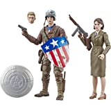 "MARVEL CAPTAIN AMERICA The First Avenger Legend Series - Captain America & Peggy Carter 6"" Action Figures 2 Pack - Kids Toys"