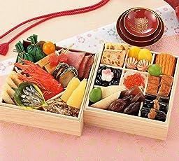 (12月30日着) 京菜味のむら おせち「小袖」二段重 25品