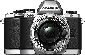 OLYMPUS OM-D E-M10  EZレンズキット シルバー ミラーレス一眼 OM-D E-M10 LKIT SLV