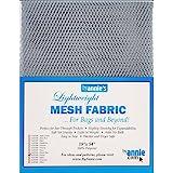 Annies Lightweight Mesh Fabric LTWT 18x54 Pewter