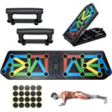 Push Up Board Fitness Equipment, ABCOOL Perfect Pushup Quadropress Stealth Core Trainer for Home Office Workout, 13in1 Adjust