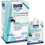 Dr. Fischer Daily hygienic & hydrating eyelid wipes- Complementary aid for dry eye syndrome & cleanse the eye area of ocular