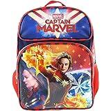 """Captain Marvel 16"""" Full Size Backpack - Superhero Girl A14176"""