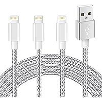 iPhone 充電ケーブル ライトニングケーブル mfi認証 2M 3本セット アイホン 充電ケーブル Lightnin…