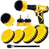 SHIELDPRO Brush Drill Attachment Set,Power Cleaning Scrub Brush Kit,All Purpose Time Saving Brush with Extend Attachment for