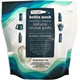 Beesly's Bottle Wash All Natural Revive Pods - No Bleach,10x Concentrated Cleaner & Odor Remover Pods - Perfected for Re-Usab