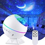 Tobeape Portable Star Projector, Night Light Projector with Remote Control, LED Nebula Cloud, Moon, Super Silent, 360° Magnet