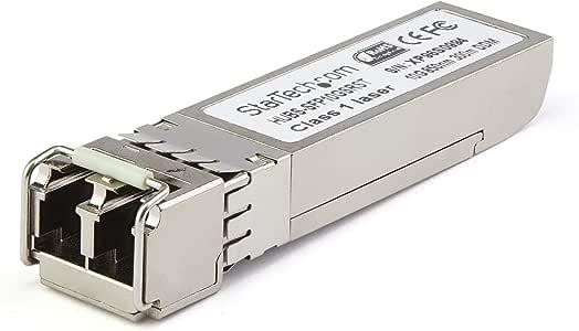StarTech.com SFP+モジュール Dell EMC製SFP-10G-ZR互換 10GBase-ZR準拠光トランシーバ SFP10GZREMST
