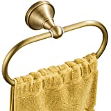 Flybath Oval Towel Ring Antique Brass Hanger Hand Towel Holder for Bathroom Kitchen Accessories Wall Mounted, Brushed Bronze