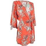 Bar 3 Women's Swimwear Brand Womens 9MBCB53M Slit Sleeve Tunic Swim Cover-up Swimwear Cover-Up - Pink