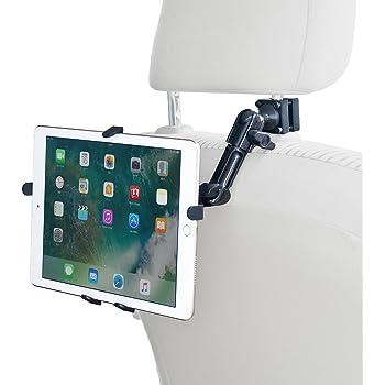 サンワダイレクト iPad タブレット 車載ホルダー 後部座席用 ヘッドレスト設置 7~11インチ対応 3関節アーム 200-CAR044