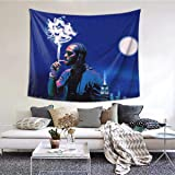 Star Heaven Pop-Smoke Tapestry Soft Wall Hanging Rapper Tapestry ,For Living Room Bedroom Home Decor 60x51in