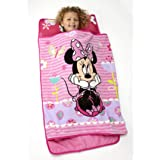 Disney Minnie Mouse Toddler Rolled Nap Mat, Sweet as Minnie, One Size