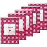 【日本製 衣類圧縮袋 LLサイズ65x45cm 】リムーブエアー ●特許製法 新型逆止弁とエンボス加工 ● LL5枚 旅行 出張 に便利な 衣類圧縮袋