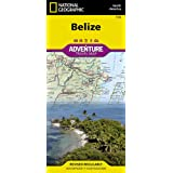 National Geographic Belize : North America: Adventure Travel Map (National Geographic Adventure Map)