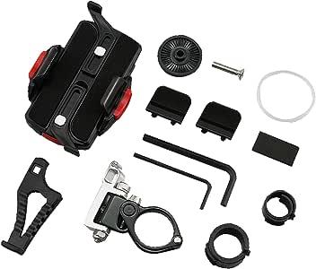 DAYTONA(デイトナ) バイク用スマホホルダー ワイド リジット iPhone11/Pro/Pro Max対応 WIDE IH-550D 92601