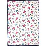 西川 リビング ミッフィー 毛布 シングル miffy ふわふわ やわらか 軽量タイプ かわいい こども おすすめ 洗える ピンク 202071486