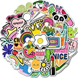 QTQYQJ Cute Girl Stickers VSCO for Hydro Flask|50-Pcs Waterproof Vinyl Stickers Laptop Sticker for Kids,Trendy Stickers Perfe