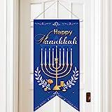 Door Sign Decorative Door Decor Welcome Banner, Hanging Welcome Door Sign Banner Fabric for Happy Fall/Thanksgiving/Christmas