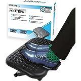 Under Desk Foot Rest & Adjustable Footrest - Ergonomic Footrest for Desk Soothes Your Tired & Achy Feet - Office Foot Rest Un