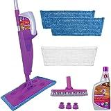 Rejuvenate Click N Clean MultiSurface Spray Mop System Complete Bundle Includes Free ClickOn Pro Grade Grout Brush x 32oz NoB