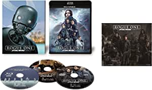 【Amazon.co.jp限定】ローグ・ワン/スター・ウォーズ・ストーリー MovieNEX(初回限定版) [ブルーレイ+DVD+デジタルコピー(クラウド対応)+MovieNEXワールド] [Blu-ray](オリジナルステッカー付)
