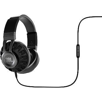 JBL Synchros S700 密閉型ヘッドホン Apple製品対応マイク付リモコン DSP機能搭載 ブラック SYNAE700BLK 【国内正規品】