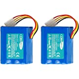 2Packs Creabest Upgraded 7.2V 4500mAh Ni-Mh Battery Compatible with Neato XV-11 XV-12 XV-14 XV-15 XV-21 XV-25, XV Essential,
