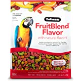 ZuPreem FruitBlend Flavor Pellets Bird Food for Large Birds, 3.5 lb Bag - Powerful Pellets Made in The USA, Naturally Flavore