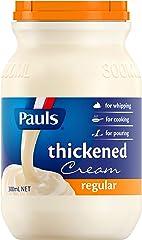 Pauls Thickened Cream Regular, 300ml - Chilled