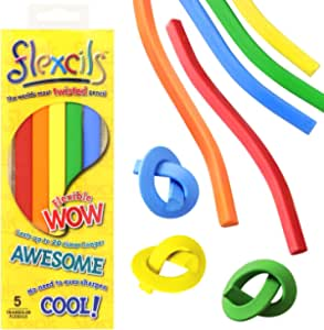flexcils(フレキシルズ) クレヨン 5色