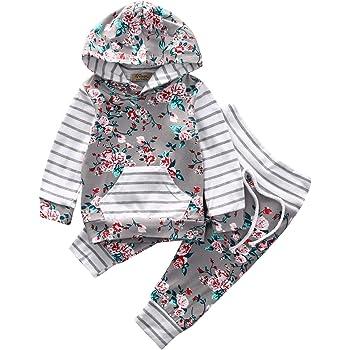 dfc4fbdc0ca25 子供服 キッズ服 女の子 フラワー パターンスウェット+レギンス 二点セット (100(